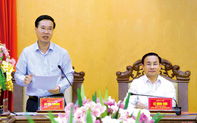Trưởng Ban Tuyên giáo Trung ương: Đại hội Đảng bộ Hà Tĩnh phải là ngày hội lớn của người dân địa phương