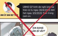 Phạt 15 triệu đồng đối với người giả danh UBND quận 7 phát tin nhắn yêu cầu dân 'treo co' từ 30/4 - 3/5