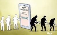 """Nhiều app cho vay biến tướng, trở thành """"tín dụng đen"""" với lãi suất 1000%"""
