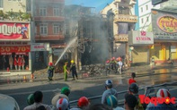"""Huế: """"Bà hỏa"""" thiêu rụi shop quần áo, thiệt hại hàng trăm triệu đồng"""