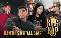 """Tuyển tập dàn """"all-star"""" chiếm lĩnh 4 chọn của HLV King Of Rap: Toàn """"quen mặt"""" giới underground, ấn tượng nhất là HIEUTHUHAI và Pháo"""