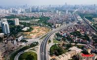 Toàn cảnh Đường vành đai 3 trên cao đoạn Mai Dịch – cầu Thăng Long