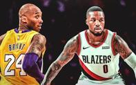 Cựu sao NBA khẳng định Damian Lillard là cầu thủ tương đồng với cố huyền thoại Kobe Bryant nhất ở thời điểm hiện tại
