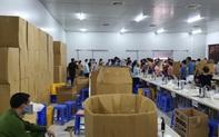 Hà Nội: Thu giữ hàng chục nghìn chiếc khẩu trang tại cơ sở sản xuất không rõ nguồn gốc