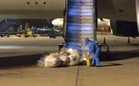 Người đàn ông thầm lặng thu gom rác sau chuyến bay hồi hương của 219 công dân Việt Nam tại Guinea Xích Đạo
