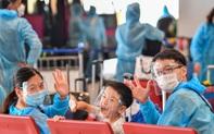 278 công dân Việt Nam từ châu Âu về nước an toàn tại sân bay Vân Đồn
