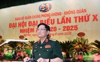 Đại tướng Ngô Xuân Lịch dự Đại hội đại biểu Đảng bộ Quân chủng Phòng không - Không quân
