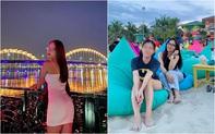 Đăng ảnh chụp gần cầu Rồng Đà Nẵng nhưng không đeo khẩu trang, hot girl Nhật Lê bị anti-fan chỉ trích nặng nề