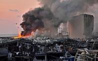 """""""Thất thần"""" từ vụ nổ kinh hoàng ngay tại Beirut: Lebanon khốn đốn đối phó khủng hoảng"""
