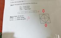 """Bài toán Tiểu học đếm hình học trò khăng khăng làm đúng, kết quả lại là """"cú lừa"""" của cô giáo"""