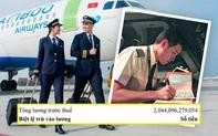 """Sau sự cố nam phi công trẻ nhất Việt Nam """"được"""" chuyển nhầm lương hơn 2044 tỷ đồng, dân tình nhẩm tính nếu trả hết tiền thừa thì """"lương anh vẫn còn cao chán!"""""""