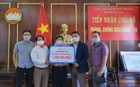 Trao tặng bệnh viện tuyến đầu ở Quảng Nam 1 tỷ đồng phục vụ công tác điều trị bệnh nhân Covid-19