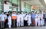 Đoàn y, bác sĩ tỉnh Phú Thọ vào Quảng Nam hỗ trợ chống dịch Covid-19