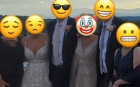 Diện váy trắng lồng lộn dự hôn lễ con trai, mẹ chú rể nhận về cơn mưa gạch đá vì khiến dân tình hoang mang không biết đâu là cô dâu