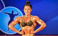 """Hot TikToker Trần Ny Ny """"mặt nữ sinh, thân hình chiến binh"""" thắng tuyệt đối ở hạng 55 cân nữ giải thể hình các CLB toàn quốc"""