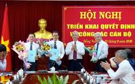 Đồng Nai điều động, bổ nhiệm 3 cán bộ chủ chốt