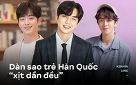 """5 nam thần trẻ xứ Hàn """"xịt dần đều"""" trên màn ảnh: Nam Joo Hyuk diễn xuất """"bình hoa"""", Yoo Seung Ho lựa phim quá chán"""