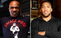 Mike Tyson sẵn sàng thượng đài cùng nhà vô địch thế giới Anthony Joshua