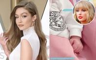 Hot như công chúa nhà Gigi Hadid: Vừa ra đời đã diện cây đồ hiệu, bác Taylor Swift tự tay làm ngay quà đặc biệt dành tặng