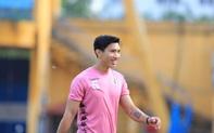 Đoàn Văn Hậu tái xuất trong buổi tập của Hà Nội FC