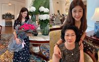 """Nữ cơ trưởng Huỳnh Lý Đông Phương đón tuổi 33 giản dị bên bạn bè người thân, nhan sắc """"ăn gian"""" tuổi khiến chị em ghen tị vô cùng"""