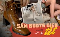 """Bắt trend 3 kiểu boots sang chảnh nhất năm 2021 với loạt gợi ý """"sắm boots diện Tết"""" giá từ 400k"""