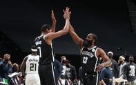 Kevin Durant và James Harden tiếp tục bùng nổ, Brooklyn Nets vượt qua Milwaukee Bucks đầy nghẹt thở