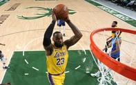 """Ném ba điểm """"cháy rổ"""" Milwaukee Bucks, Los Angeles Lakers nối dài thành tích bất bại tại sân khách"""
