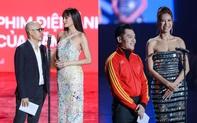 Minh Tú và Võ Hoàng Yến như người khổng lồ, biến dàn khách mời thành tí hon trên sân khấu WeChoice 2020