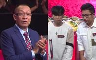 """Nhà báo Lại Văn Sâm đứng bật dậy vì đề nghị của 2 siêu trí tuệ Việt Nam, cả trường quay """"bùng nổ"""" vào phút cuối cùng"""