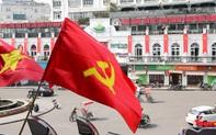 Rực rỡ cờ hoa chào mừng Đại hội Đảng lần thứ XIII