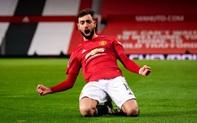 Bruno sút phạt đẳng cấp, Man Utd ngược dòng loại Liverpool khỏi cúp FA