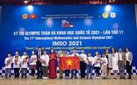 Học sinh Việt Nam đoạt 20 huy chương tại Olympic Toán và Khoa học Quốc tế - IMSO 2021