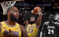 Ghi 46 điểm trước đội bóng cũ, LeBron James gửi tặng món quà tri ân đến Kobe Bryant