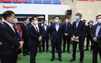 Bí thư Thành ủy Hà Nội Vương Đình Huệ yêu cầu đẩy nhanh tiến độ cải tạo, sửa chữa các công trình thi đấu phục vụ SEA Games 31