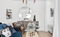 Căn hộ 39m² cực sang chảnh mặc cho diện tích bé nhờ sử dụng chất liệu nhung cho đồ nội thất