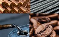 Thị trường ngày 19/10: Giá dầu và khí giảm khỏi mức cao kỷ lục, vàng, đồng sắt thép cùng lao dốc