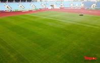 Mặt sân Mỹ Đình được cải thiện rõ rệt, sẵn sàng cho những trận đấu lớn