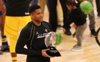Team LeBron thắng dễ trong ngày Giannis Antetokounmpo lập kỷ lục All-Star cùng danh hiệu MVP