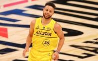 """Tạo """"mưa 3 điểm"""" trong All Star Game 2021, Stephen Curry quyên góp tiền tỷ cho tổ chức từ thiện"""