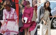Công nương Diana và Kate Middleton đều gặp sự cố tốc váy, lạ thay Meghan Markle lại chưa từng mắc lỗi này