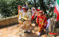 Lễ hội điện Huệ Nam đông khách trở lại sau một năm tạm dừng vì Covid-19