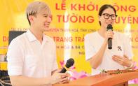 Trang Trần dùng tiền cát xê cùng Dược sĩ Tiến thực hiện lời hứa xây cầu hơn 3 tỷ cho bà con Long An