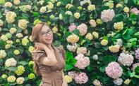 Du khách háo hức check in trước thềm Lễ hội hoa Sầm Sơn