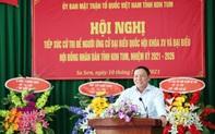 """Bộ trưởng Nguyễn Văn Hùng: """"Nếu làm đại biểu Quốc hội, tôi ý thức được mình phải là người đại diện cho ý chí, nguyện vọng của cử tri"""""""