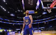 """Stephen Curry không có dấu hiệu """"nguội lạnh"""", thiêu rụi đội đầu bảng Utah Jazz"""