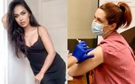 Những mỹ nhân showbiz từ bỏ hào quang, xông pha ra tuyến đầu, làm bác sĩ, y tá chống dịch Covid-19