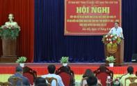 """Bộ trưởng Nguyễn Văn Hùng trăn trở về """"bài toán"""" nâng cao thu nhập cho người dân tỉnh Kon Tum"""