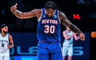 Julius Randle thể hiện bản lĩnh, dẫn dắt New York Knicks lội ngược dòng trước San Antonio Spurs