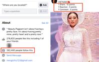 Cảnh báo: Xuất hiện fanpage Miss Universe giả mạo kêu gọi vote ảo cho Khánh Vân để câu like, khiến trăm nghìn fan đổ xô bình chọn